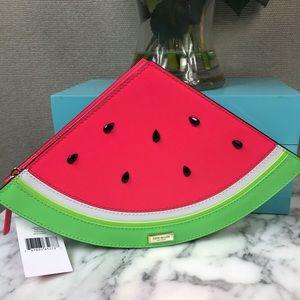 Kate Spade Make a Splash Watermelon Slice Clutch